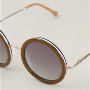 The Row 8 Round Sunglasses